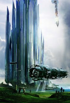 of Science Fiction Stephan Martiniere - Kōsa Press Fantasy Places, Sci Fi Fantasy, Fantasy World, Futuristic City, Futuristic Architecture, Dreamland, Sci Fi Kunst, Science Fiction Kunst, Bg Design