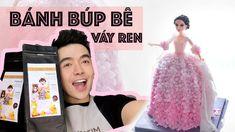 #14 Bánh Búp Bê Váy Ren - Cách Làm Ren Bằng Đường Giống Y Như Thật - YouTube Creative Studio, Youtube, Sequin Skirt, Sweets, Concept, Music, Musica, Musik, Gummi Candy