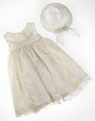 Δαντελένιο βαπτιστικό φόρεμα