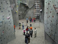 Peak Experiences - One of the largest indoor rock climbing centers in the United States! So want to go to this place!