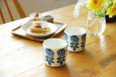 Blue Marimekko, Tableware, Design, Blue, Dinnerware, Tablewares, Dishes, Place Settings