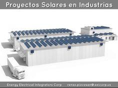 Proyectos Solares en Industrias Venezuela. Paneles Solares en Industria Alimenticia Venezuela. Proyectos solares  fotovoltaicos integrados Venezuela. Planta de Energia Solar Fotovoltaica Venezuela.