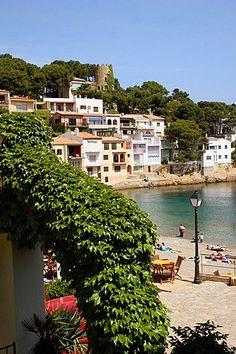 Sa Tuna Beach, Begur, Costa Brava, Girona province, Catalonia.