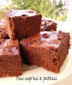 """Dopo averla assaggiata capirete perchè l'ho chiamata """"libidine di cioccolato torta senza latte e lievito""""!"""