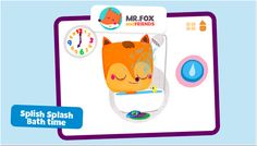 What's the Time Mr.Fox - A fun, educational, interactive time-based game which helps to teach time.