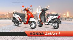 Honda Activa i Price, Colours, Images, Models, Mileage, Specifications. Honda Activa i price starts at Rs. 49,570 onwards. Honda Activa i is available in 4 colours, 66 kmpl of mileage*, 103 kg of weight, 83 kmph top speed. Honda Scooter Models, Honda Scooters, Scooter Design, Tubeless Tyre, Performance Engines, Image Model, Seat Storage, Ignition System, Headlight Bulbs