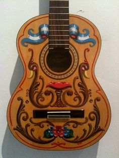 "Guitarra ""fileteada"""