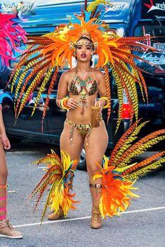 pretty costume:Trinidad Carnival 2015