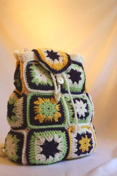 A backpack purse. The link takes you to the Styles by Three Etsy shop where this item was for sale, but now it's sold out. There is no pattern available, but it looks simple enough to make without one.