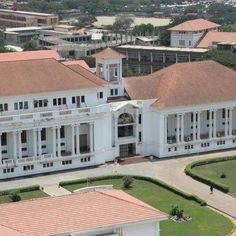 The Supreme Court building..Accra, Ghana