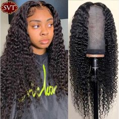 Brazilian Lace Front Wigs, Curly Lace Front Wigs, Human Hair Lace Wigs, Deep Curly, Long Curly, Hair Quality, Wigs For Black Women, Hair Today, Textured Hair