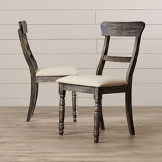 Snellville Ladderback Side Chair (Set of Solid Wood Dining Chairs, Upholstered Dining Chairs, Dining Chair Set, Dining Room Chairs, Side Chairs, Dining Table, Dining Area, Kitchen Dining, Wood Table