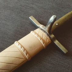 Scabbard for a Langes Messer, handmade by 3wunder