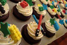Lego Star Wars Cupcakes by cakezilla, via Flickr
