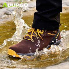 69cf9517 CA Wodoodporne obuwie turystyczne Męskie Oddychające zimowe buty  turystyczne Męskie Lekkie buty sportowe Wspinaczka górska Buty