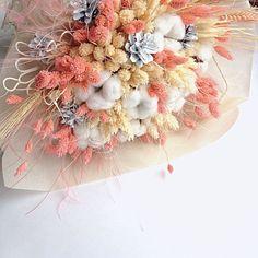 Нежный букет из сухоцветов