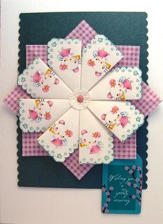 Tea Bag Folding Card by paperfacets, via Flickr