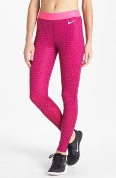 Fall/ winter running tights that keep me almost-warm.  Nike 'Pro Hyperwarm' Tights available at #Nordstrom