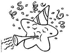 2016 new years eve coloring pages ~ new year's coloring pages | Images New Year Ball drop ...
