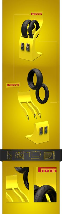 Pirelli by Fergovi , via Behance