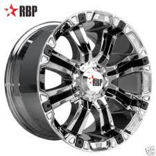 RBP® - Chrome with Black Inserts. The wheel can be ordered in diameters. Choose your rim width, offset, bolt pattern and hub diameter from the option list. Rim And Tire Packages, Nitto Ridge Grappler, Cheap Sports Cars, Sport Cars, Ranger, Rims For Cars, Car Rims, Truck Rims And Tires, Jeep Rims