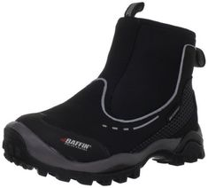 """Baffin Women's Avila Waterproof Boot Baffin. $109.95. Rated to -4 degrees Fahrenheit making it ideal for rain, slush and snow; Baffin's own B-Tek hollow fiber insulation for dependable warmth; Waterproof breathable membrane; neoprene; Removable multi-density insole; Aggressive outsole with ample torsional rigidity for comfort and support; Boot opening measures approximately 10.75"""" around; Heel measures approximately 1.25""""; Rubber sole; Shaft measures approximately 5.5"""" from arch"""