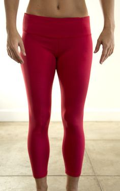 Red Crop Pants from WOD Gear Clothing Company