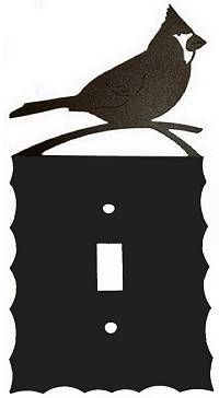 Electrical Light Switch Cover - Cardinal Design