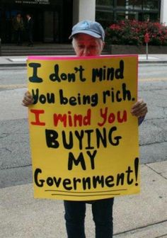 Don't buy my government!