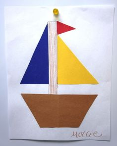 shape boat craft for Family Time