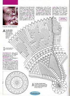 Home Decor Crochet Patterns Part 54 - Beautiful Crochet Patterns and Knitting Patterns Crochet Doily Diagram, Crochet Mandala Pattern, Filet Crochet Charts, Doily Patterns, Crochet Doilies, Knitting Patterns, Crochet Patterns, Crochet Shawl, Crochet Sunflower