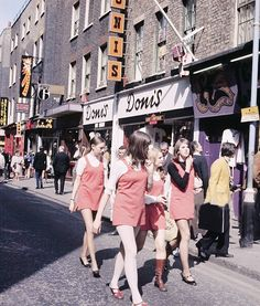 Girls in Carnaby Street, circa 1968