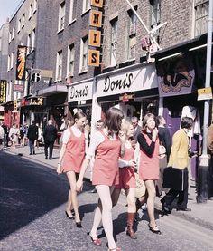 Girls in Carnaby Street, circa 1968