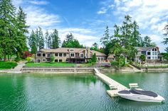 2916 Horsehead Bay Dr NW, Gig Harbor, WA 98335 | MLS #931582 - Zillow Washington Houses, Beautiful Homes, Home And Family, Mansions, House Styles, Dream Homes, Building, Decoration, Home Decor