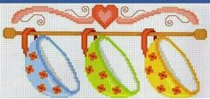 This Pin was discovered by Nel Cross Stitch Borders, Cross Stitch Charts, Cross Stitch Designs, Cross Stitching, Cross Stitch Embroidery, Cross Stitch Patterns, Modele Pixel Art, Cross Stitch Kitchen, Marianne Design