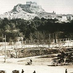 #ilissos #acropolis #athens #vintageathens #oldathens Athens Hotel, Athens Greece, Acropolis, Yesterday And Today, Paris Skyline, History, City, Instagram Posts, Lost