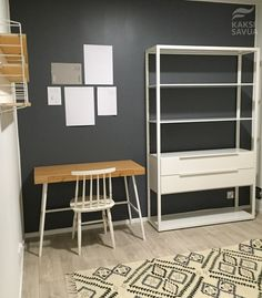Image result for strings hylly desk Loft, Desk, Image, Furniture, Home Decor, Desktop, Decoration Home, Room Decor, Lofts
