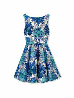 MUST: Alice + Olivia by Stacy Bendet polyester-blend dress, $440