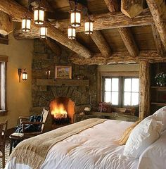 AdoreYourPlace: A cold, snowy night this bedroom ...