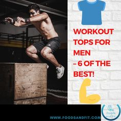 Are you in need of a gift for a guy who's into the gym or fitness or just looking for some functional workout tops for yourself? Choosing workout tops for men is no easy feat. Either way, with the below list you'll uncover gift ideas that are ideal for any occasion, whether it's a birthday, Valentine's Day or Christmas present, or simply a gift from you to you! Your gym buff buddy is bound to love something on the list. Check out these technical t-shirts while they're on offer! #FoodsandFit Fitness Equipment, No Equipment Workout, Functional Workouts, Birthday Surprise Boyfriend, A Guy Who, Gifts For Husband, Muscle Men, Workout Tops, Good Things