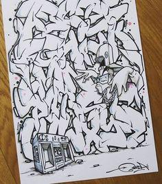 He kills it everytime... BONZAI @davebonzai  #AllCitypaint #AllCity #davebonzai #graffiti #graffitiporn #graffitiwall #graff #instagraffiti #instagrafite #instagraff #streetarteverywhere #streetart #urbanart #streetartistry #graffitiart #spraypaint #blackbook