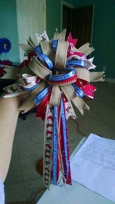 western baby shower corsage