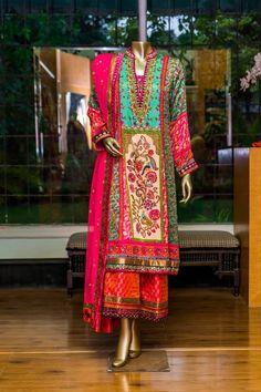 Faiza Samee - 3 Piece Blockprint Outfit - Studio by TCS