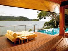 Escape to the six-star boutique resort, qualia on Hamilton Island in the #Whitsundays.