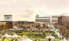 Packers unveil vision for Titletown District