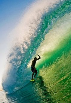 Surfing is awesome to watch, but I really want to try it myself... =)