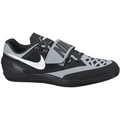 7ccf8a8273c32 Nike Zoom Rotational Shot Put Discus Hammer Throws Shoes Black Silver Mens  Size 10.5 Hammer Throw