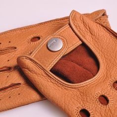 Half Finger Leather Glove