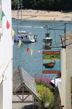 Salcombe, Devon.  Home to Betsy Luckham Penwill.  Father and brother Thomas were Master Mariners