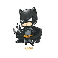 #batman #chibi #drawing  @oxmariieee